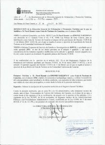 Průvodcovská licence