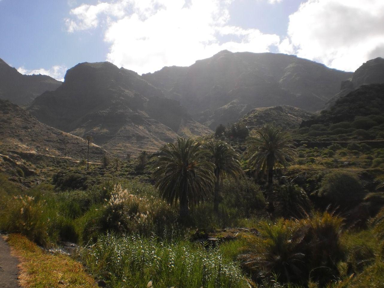 Beautiful countryside of Gran Canaria