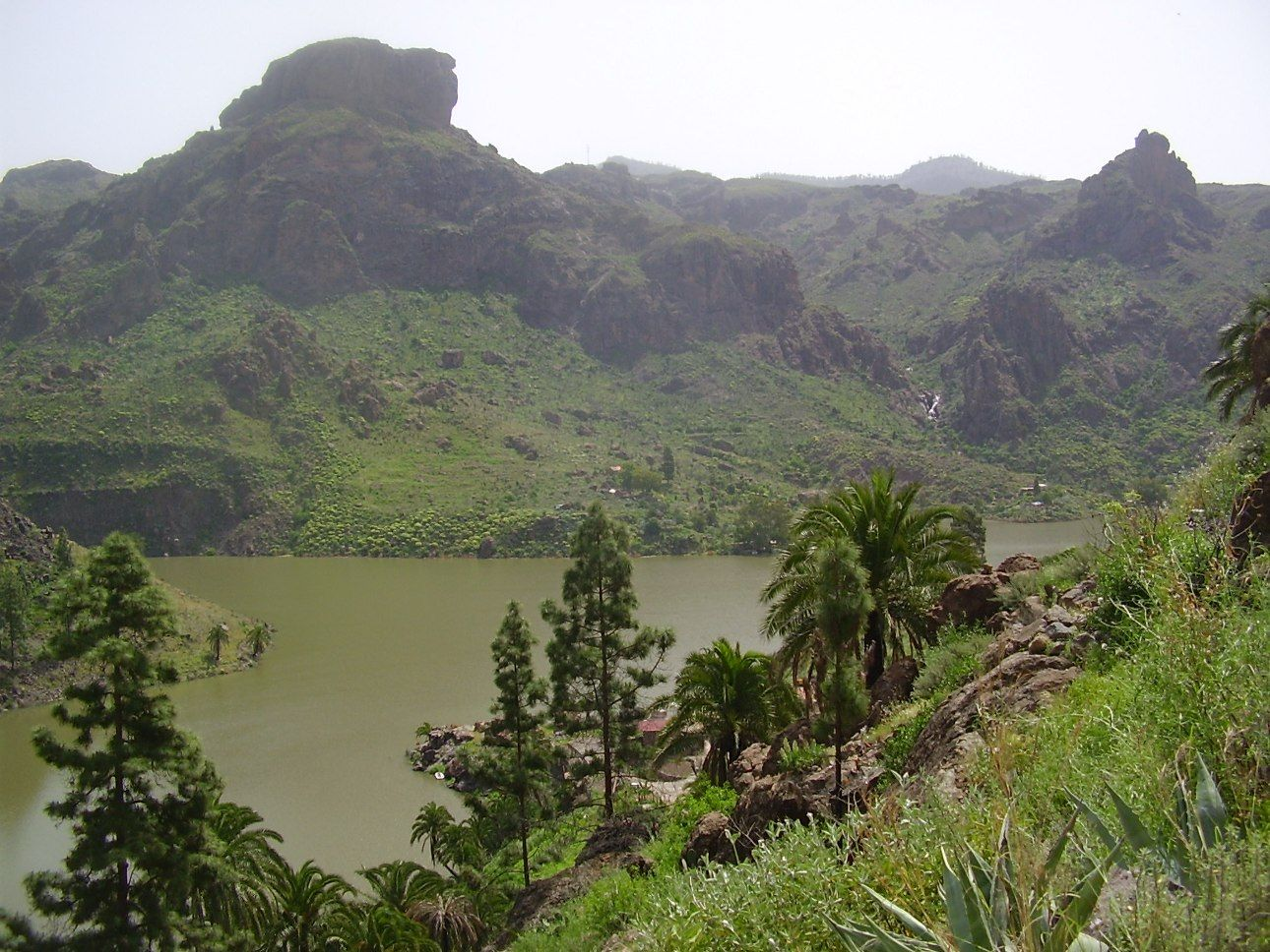 Small continent of Gran Canaria