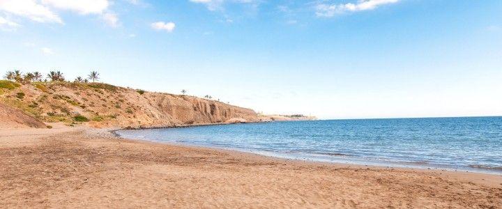 Sandy beaches of Gran Canaria